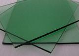 F de vidrio verde
